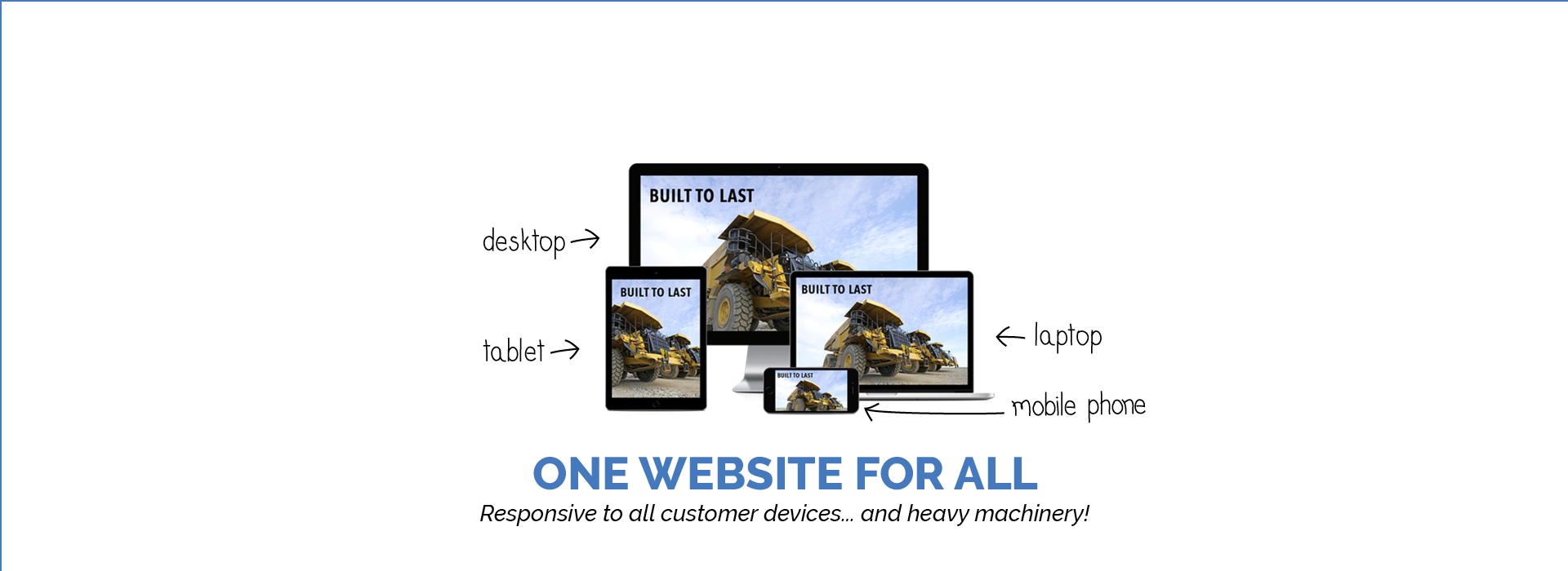 ONE WEBSITE FOR ALL